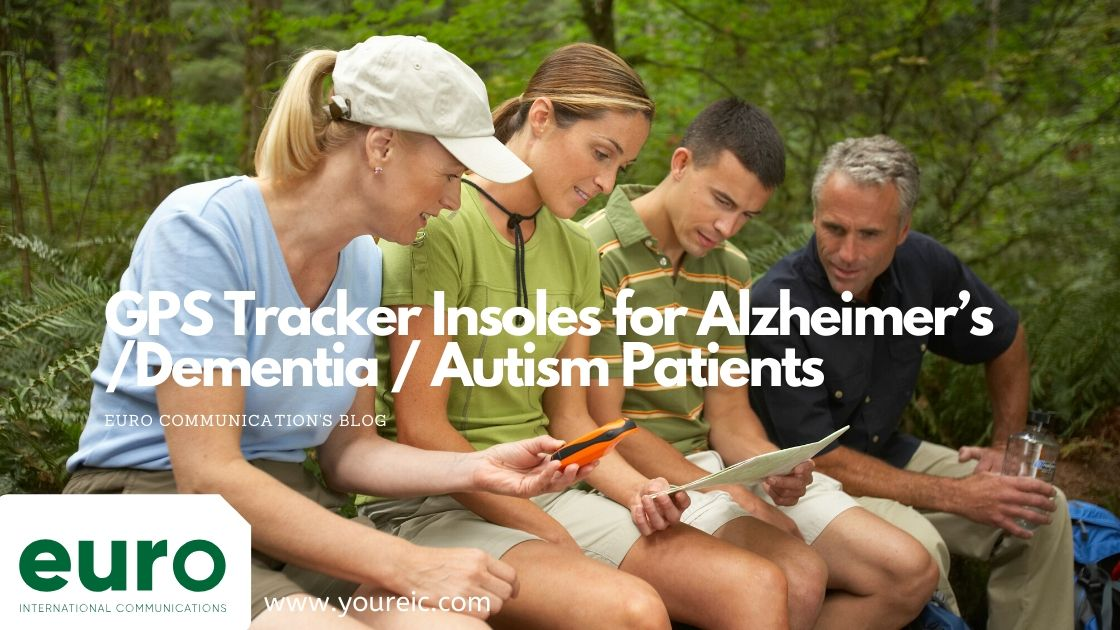 GPS Tracker Insoles for Alzheimer's /Dementia / Autism Patients