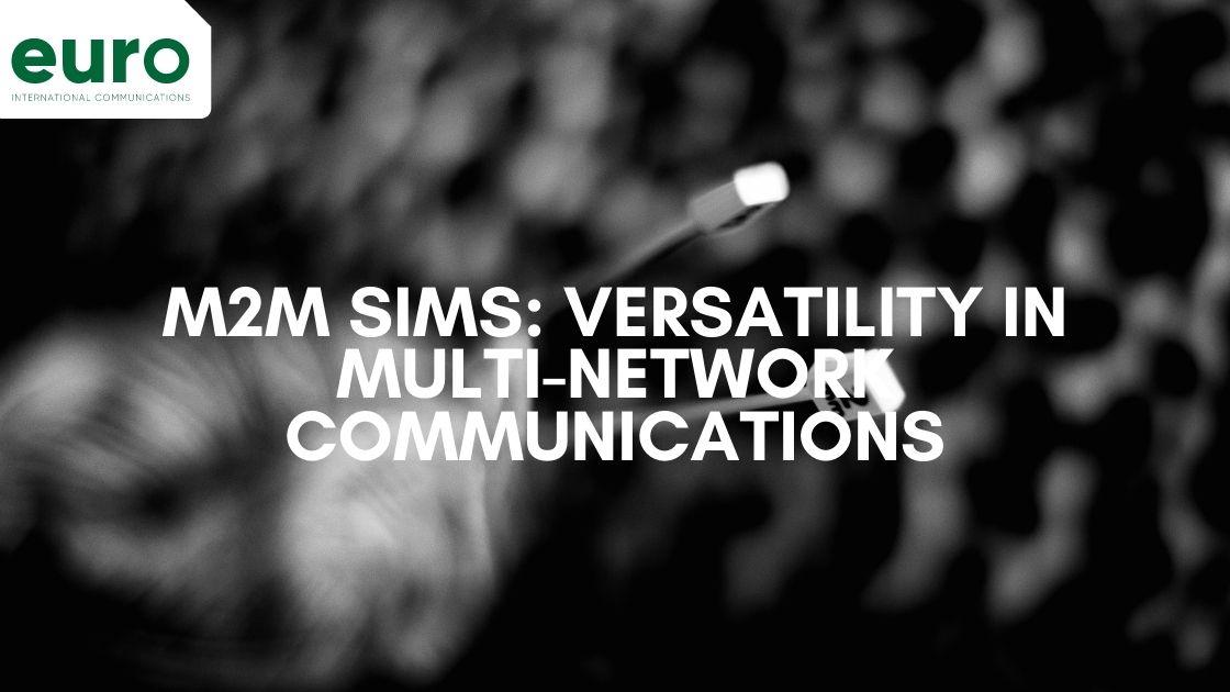 M2M Sims: Ensuring Versatility in Multi-Network Communications