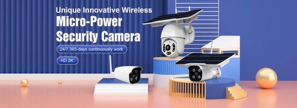 Super Low Power wireless Solar Camera